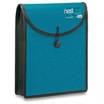 Aktovka na dokumenty FolderMate Nest modrá