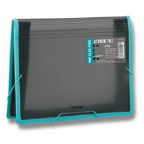 Aktovka na dokumenty FolderMate Pop Gear Plus kouřová