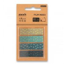 Samolepicí záložky Hopax Stick'n Pop-Up in Bloom 45 x 12 mm, 4 x 20 listů, ptáci