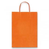 Dárková taška Allegra Light oranžová, M