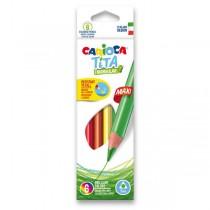 Pastelky Carioca Tita Triangular Maxi 6 barev
