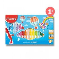 Dětské fixy Maped Color´Peps Jumbo 18 barev