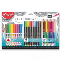 Výtvarná sada Maped Coloring set 33 kusů