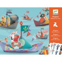 Origami sada Djeco Plovoucí lodě