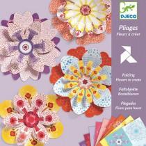 Origami skládačka Djeco květiny