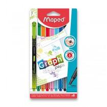 Liner Maped Graph´Peps Premium sada, 8 ks