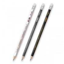 Tužka Maped Deco s pryží tvrdost HB (číslo 2), mix barev
