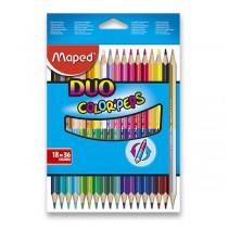 Pastelky Maped Color´Peps Duo oboustranné pastelky, 36 barev