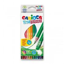 Pastelky Carioca Tita Erasable 12 barev