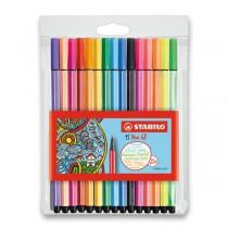 Fixy Stabilo Pen 68 15 barev