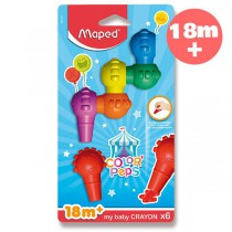 Pastely Maped Color´Peps Baby Crayons 6 barev