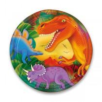 Papírové talířky Dinosauři průměr 23 cm, 8 ks
