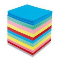 Poznámkový bloček barevný - nelepený 90 × 90 × 90 mm, 800 listů