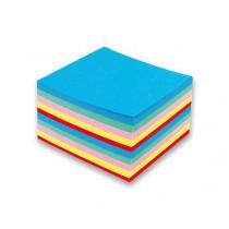 Poznámkový bloček barevný - nelepený 90 × 90 × 50 mm, 500 listů