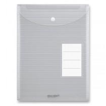 Spisovka s drukem Foldermate iWork s horním plněním, transparentní, A4
