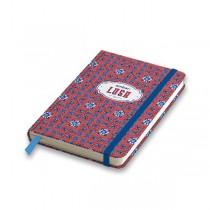 Záznamní kniha Ambar Lusa A5, linkovaná, 80 listů, mix motivů