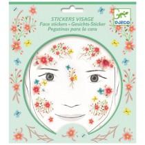 Samolepky na obličej Djeco Květinová víla