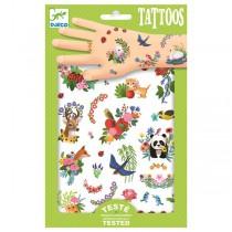 Tetování Djeco Šťastné jaro