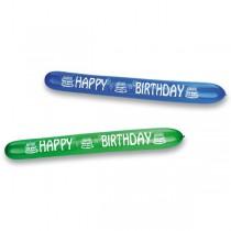 Nafukovací balónky Happy birthday, 2 ks
