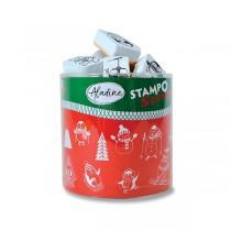 Razítka Stampo Scrap - Zimní hrátky 26 ks