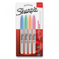 Permanentní popisovač Sharpie Fine sada 4 ks, pastelové barvy