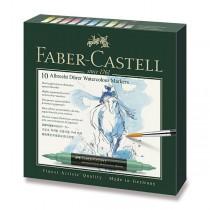 Akvarelové popisovače Faber-Castell Albrecht Dürer 10 barev