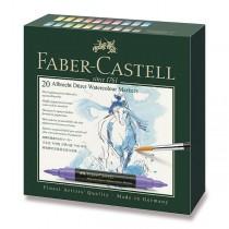 Akvarelové popisovače Faber-Castell Albrecht Dürer 20 barev