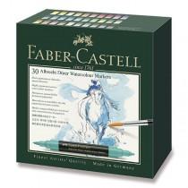 Akvarelové popisovače Faber-Castell Albrecht Dürer 30 barev