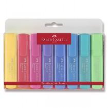 Zvýrazňovač Faber-Castell Textliner 46 8 kusů, pastelové