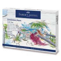 Akvarelové pastelky Faber-Castell Goldfaber Aqua dárková sada, 18 ks