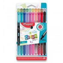 Liner Maped Graph´Peps Deco sada 20 barev
