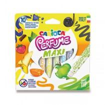 Dětské fixy Carioca Parfume Maxi sada 10 barev