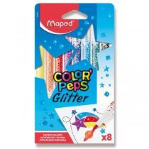 Fixy Maped Glitter 8 barev