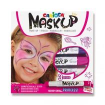 Obličejové barvy Carioca Mask Up Princess 3 barvy