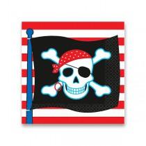 Papírové ubrousky Pirate Party 16 ks