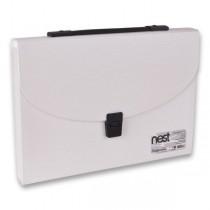 Aktovka na dokumenty FolderMate Nest bílá