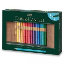 Akvarelové pastelky Faber-Castell Albrecht Dürer pouzdro, 30 barev