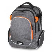 Školní batoh Walker Campus Wizzard Grey Melange