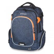 Školní batoh Walker Campus Wizzard Dark Blue Mel