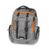 Školní batoh Walker Academy Wizzard Grey Melange