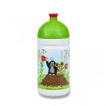 Zdravá lahev 0,5 l limitovaná edice, Krtek a jahody, zelená