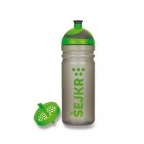Zdravá lahev ŠEJKR 0,7 l zelená