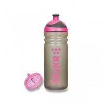 Zdravá lahev ŠEJKR 0,7 l růžová