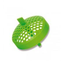 Zdravá lahev Šejkr sítko zelené