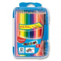 Pastelky Maped Color´Peps Smart Box 15 barev