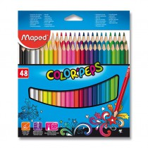 Pastelky Maped Color´Peps 48 barev