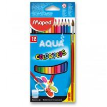 Pastelky Maped Color´Peps Aqua 12 barev + štětec