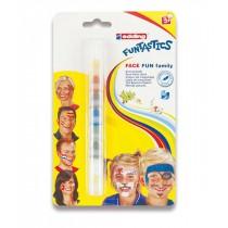 Obličejové barvy Face Fun Family 7 barev