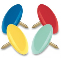 Připínáčky Maped barevné 100 ks, krabička