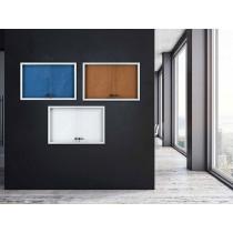 Vitrína AVELI informační modrá, 6x A4